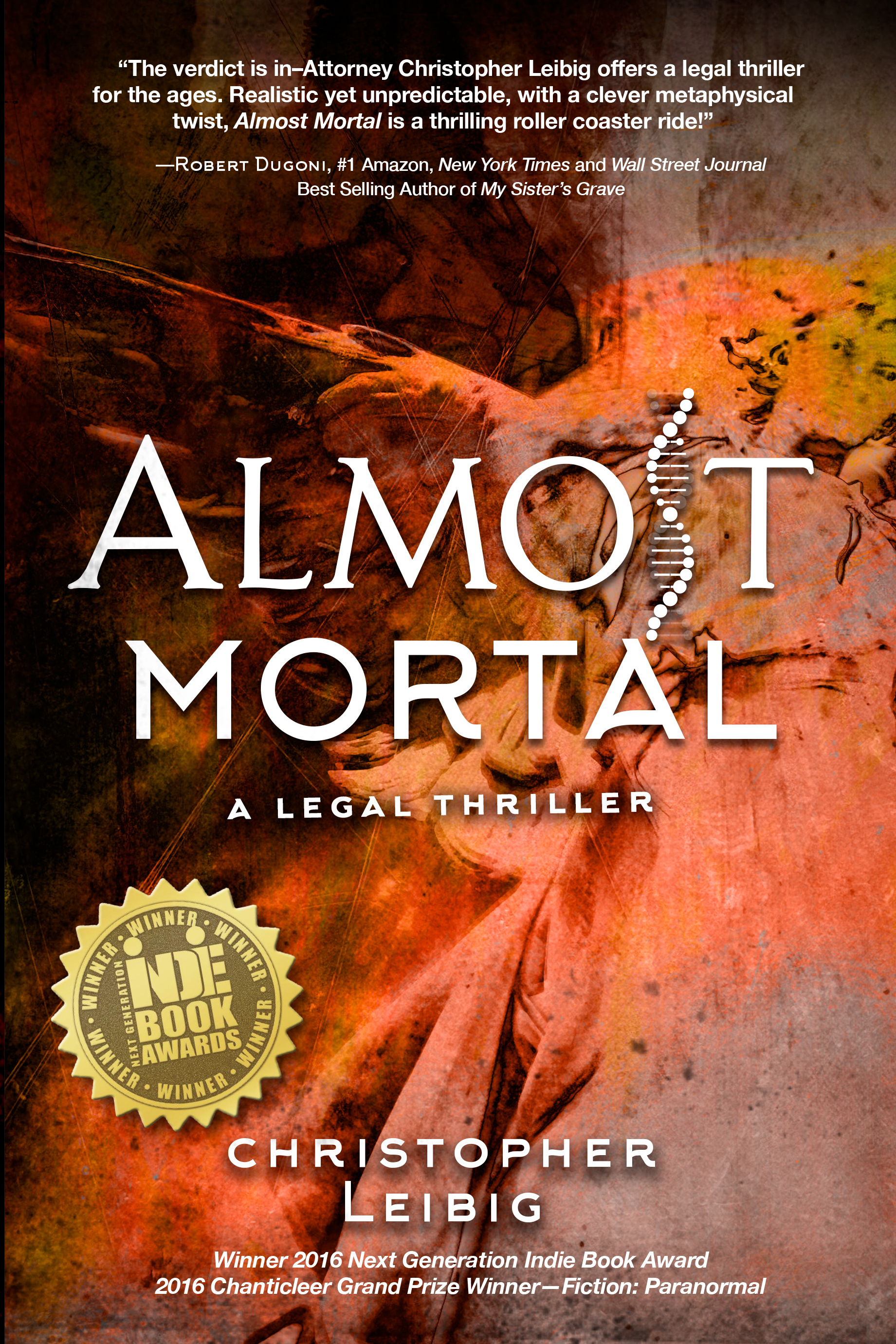 Almost Mortal in Amazon's Top 100 Legal Thrillers!